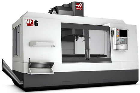 HAAS Model #VF6 Vertical Mill