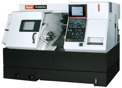 Mazak Model #QTN250MY Lathe